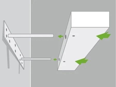 comment poser une etagere murale avec