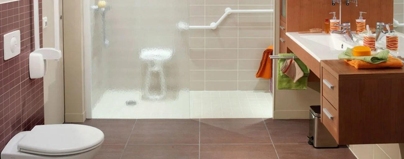 salle de bains aux vieux jours