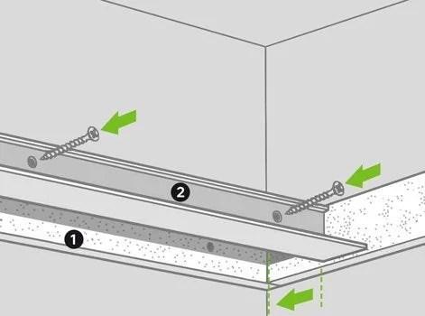 Comment Realiser Un Faux Plafond Acoustique Leroy Merlin