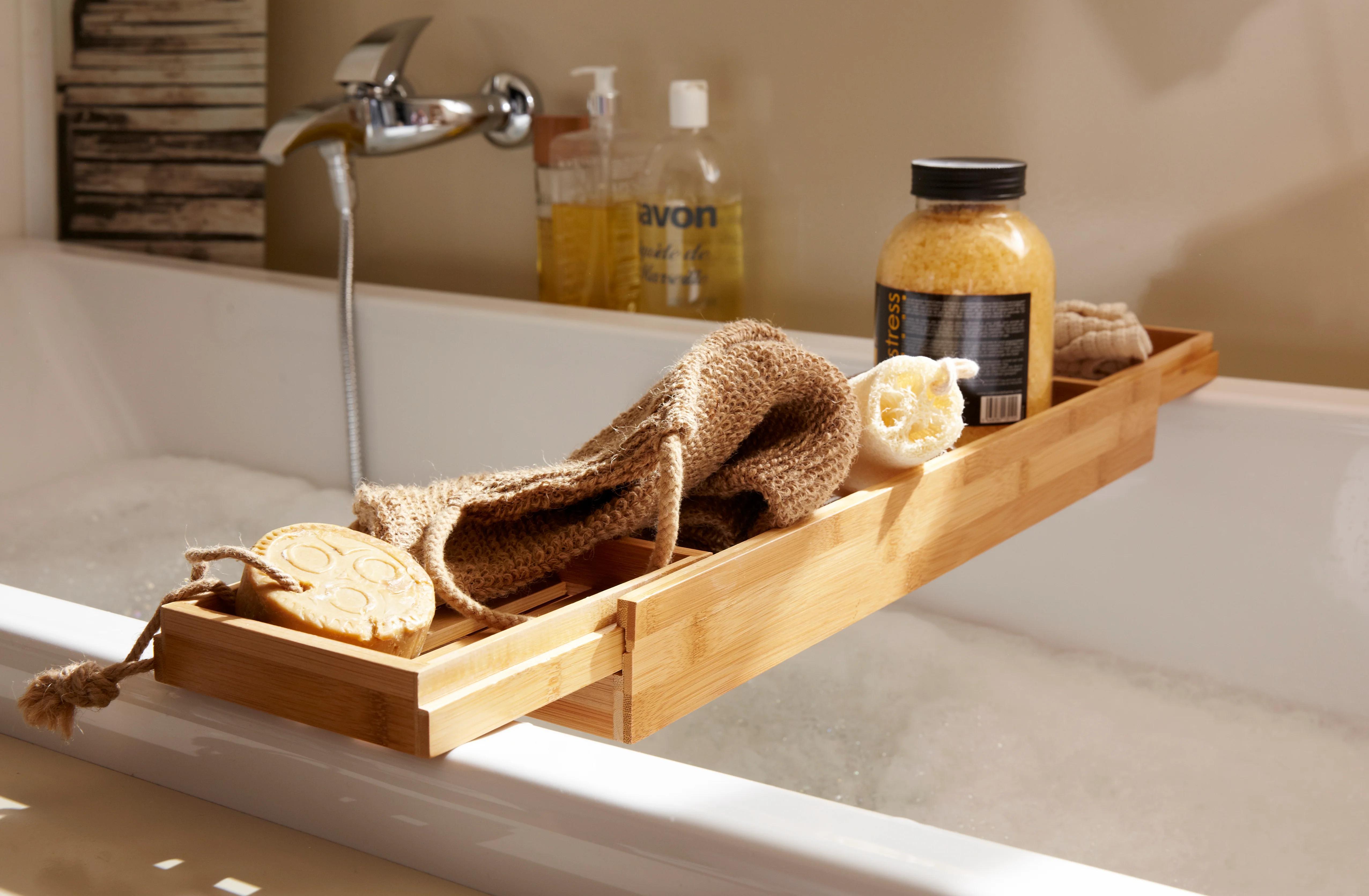 un pont de baignoire en bois pour vos