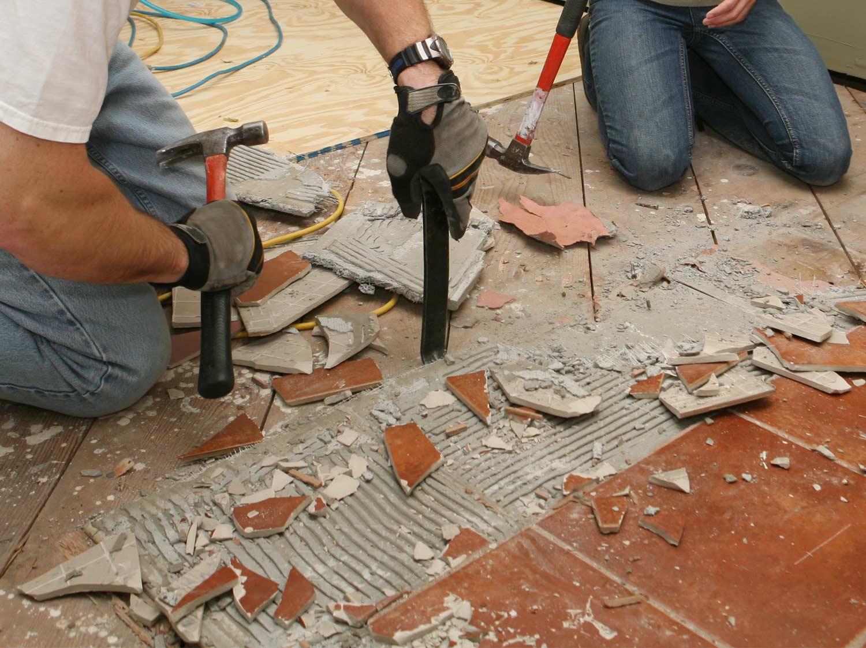comment enlever un carrelage de sol