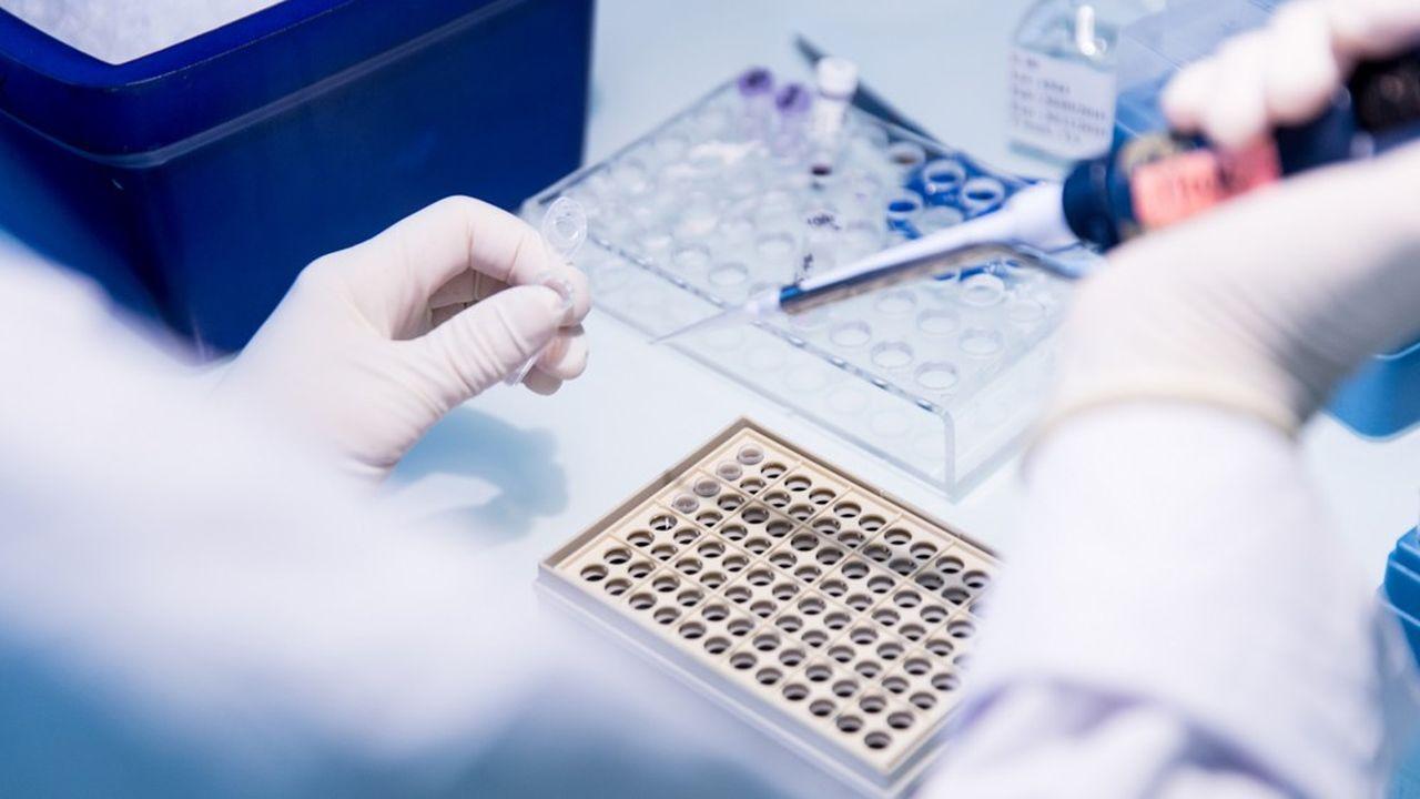 La biotech française pénalisée par le manque de financement | Les Echos