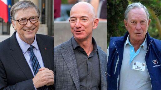 Les trois milliardaires ont l'habitude d'alerter sur les désastres causés par le changement climatique.