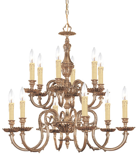 Crystorama 2612 Ob Novella 12 Light 26 Inch Olde Brass Chandelier Ceiling