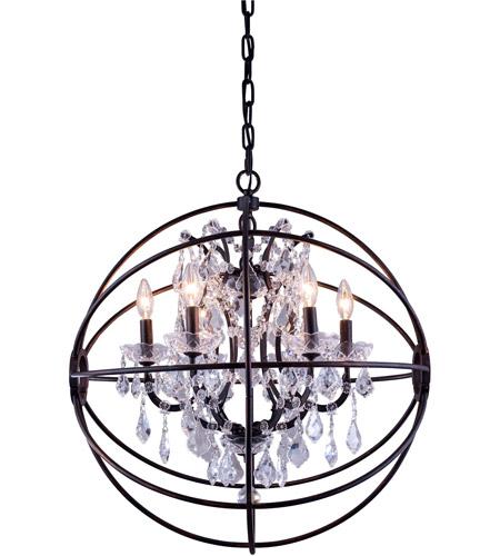 geneva 6 light 25 inch dark bronze pendant ceiling light in clear urban classic