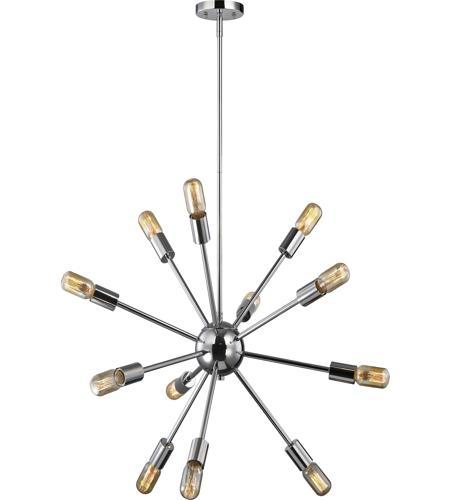 elk 46234 12 delphine 12 light 27 inch polished chrome chandelier ceiling light