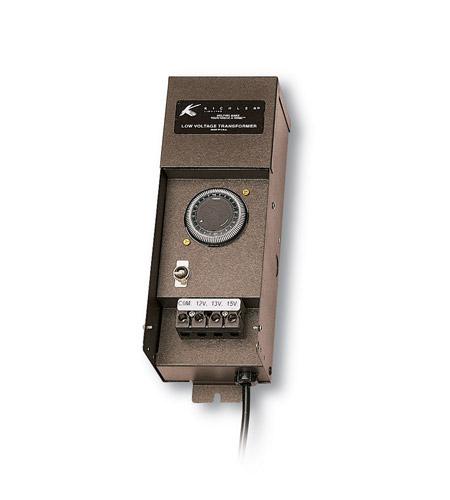 kichler lighting transformer 900w timer landscape 12v transformer in textured architectural bronze 15t900azt