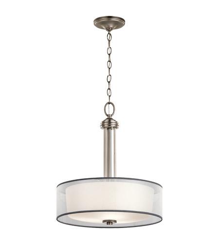 kichler 43153ap tallie 3 light 18 inch antique pewter inverted pendant medium ceiling light medium