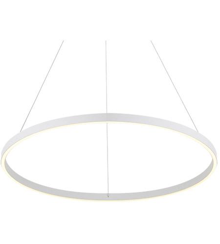kuzco lighting pd86132 wh cerchio led 32 inch white pendant ceiling light