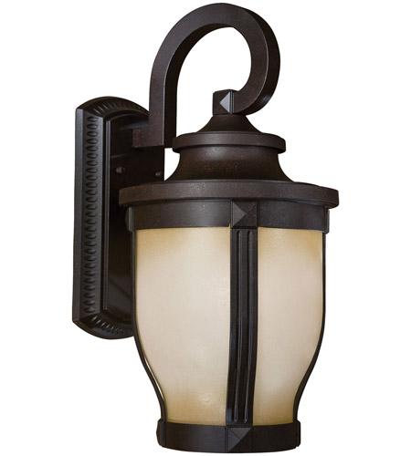 minka lavery 8763 166 pl merrimack 1 light 20 inch corona bronze outdoor wall mount in gu24 great outdoors
