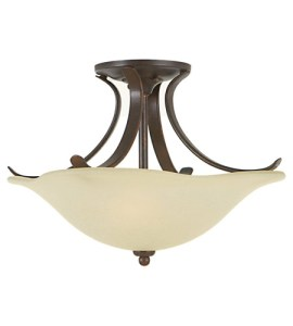 Feiss SF213GBZ Morningside 2 Light 15 inch Grecian Bronze Semi Flush     Feiss SF213GBZ Morningside 2 Light 15 inch Grecian Bronze Semi Flush Mount  Ceiling Light in Cream Snow Glass
