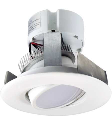 nora lighting nox 43440ww onyx white recessed reflector retro style
