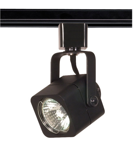 nuvo th313 brentwood 1 light black track lighting ceiling light square