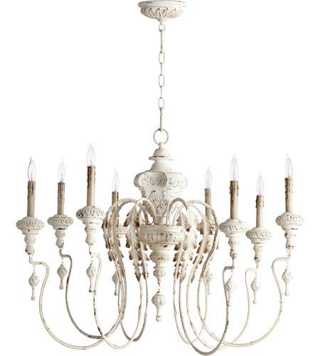 Quorum 6006 8 70 Nto Light 38 Inch Persian White Chandelier Ceiling