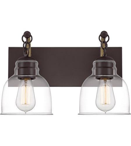 bosun 2 light 16 inch old bronze bath light wall light