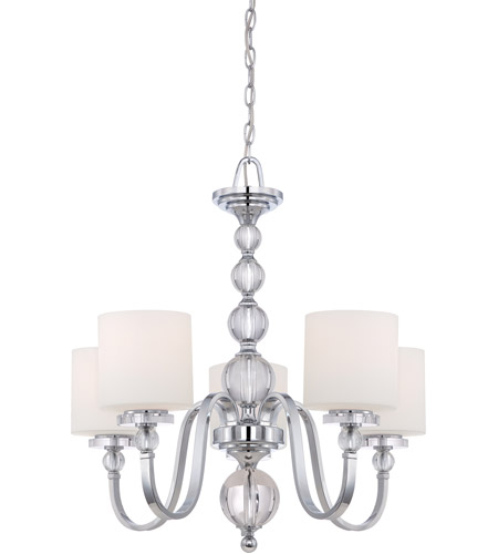 Quoizel Dw5005c Downtown 5 Light 28 Inch Polished Chrome Chandelier Ceiling