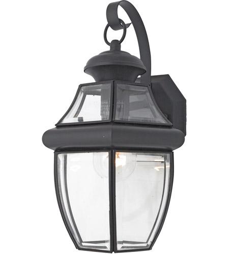 quoizel ny8316k newbury 1 light 14 inch mystic black outdoor wall lantern