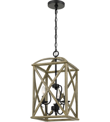 woodhaven 3 light 13 inch distressed weathered oak foyer piece ceiling light extra large