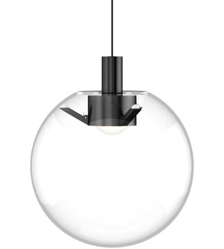 tech lighting 700mpplncb led930 sean lavin mini palona led 8 inch nightshade black pendant ceiling light in monopoint