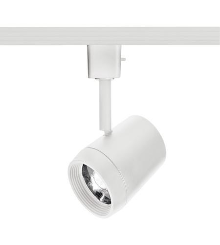 wac lighting h 7011 930 wt oculux 1 light 120v white h track fixture ceiling light