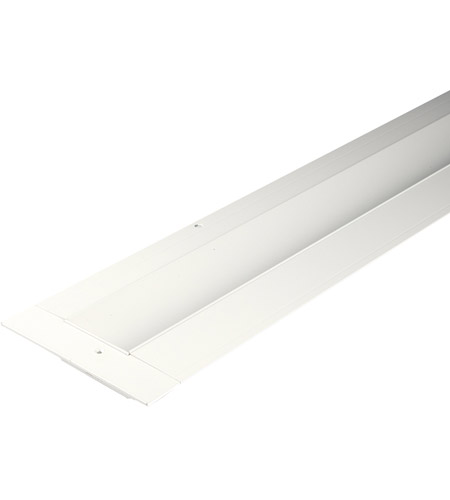 wac lighting led t rch1 wt invisiled recessed channels white 4 inch invisiled tape light