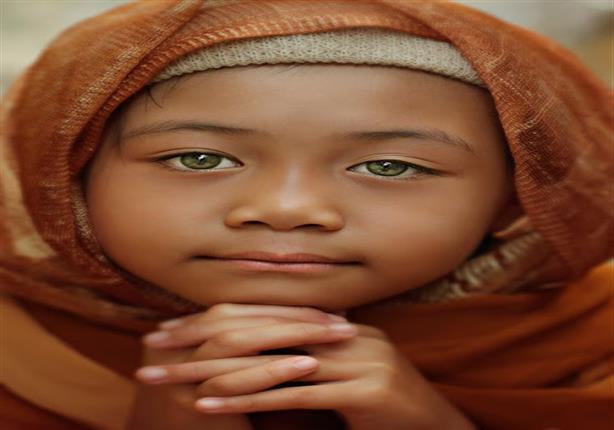بالصور أجمل عيون أطفال في العالم بينهم ذات مجرة الفض