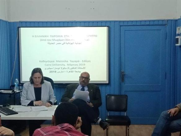 أستاذ علوم سياسية بأثينا: التحالف المصري اليوناني ممتد وباق منذ قرون
