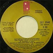 """95. """"Satisfaction Guaranteed (Or Take Your Love Back)"""" - Harold Melvin & the Blue Notes (1974)"""