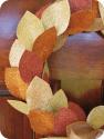homemade by jill: Glitter Wreath Tutorial