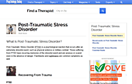 Post-Traumatic Stress Disorder   Psychology Today