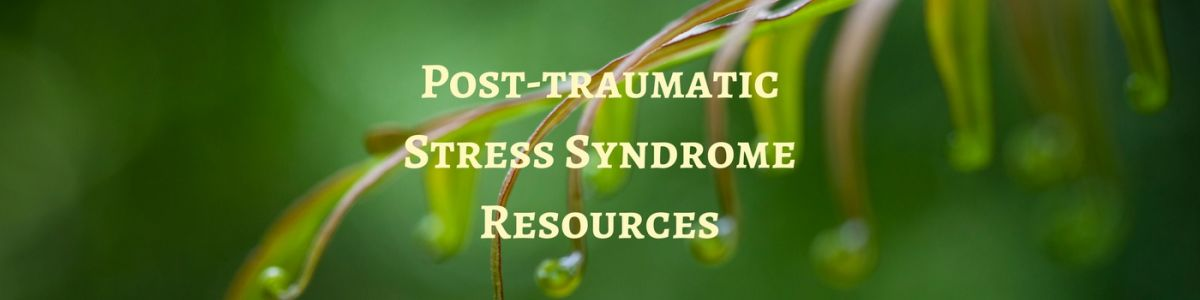 Headline for Just the FAQs   Post-traumatic Stress Syndrome Resources