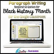 Black History Month: Respond to Quotes for the Google Classroom | TpT