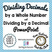 Dividing Decimals Powerpoint by Mercedes Hutchens | TpT