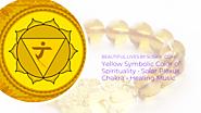 Yellow Symbolic Color of Spirituality • Solar Plexus Chakra • Healing Music ·