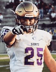 Connor Heffler (St. Augustine) 5-11, 200