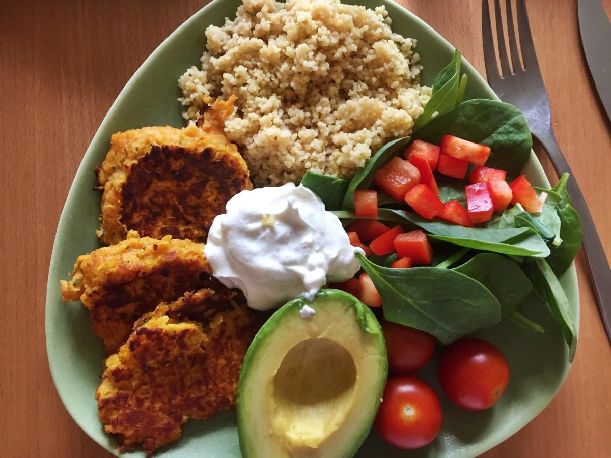 Veckans vegetariska: Smarriga linsbiffar med koriander