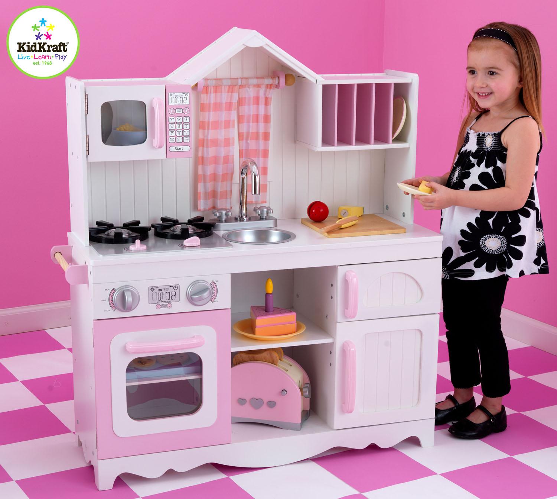 Kidkraft Modern Country Kitchen 53222 Can