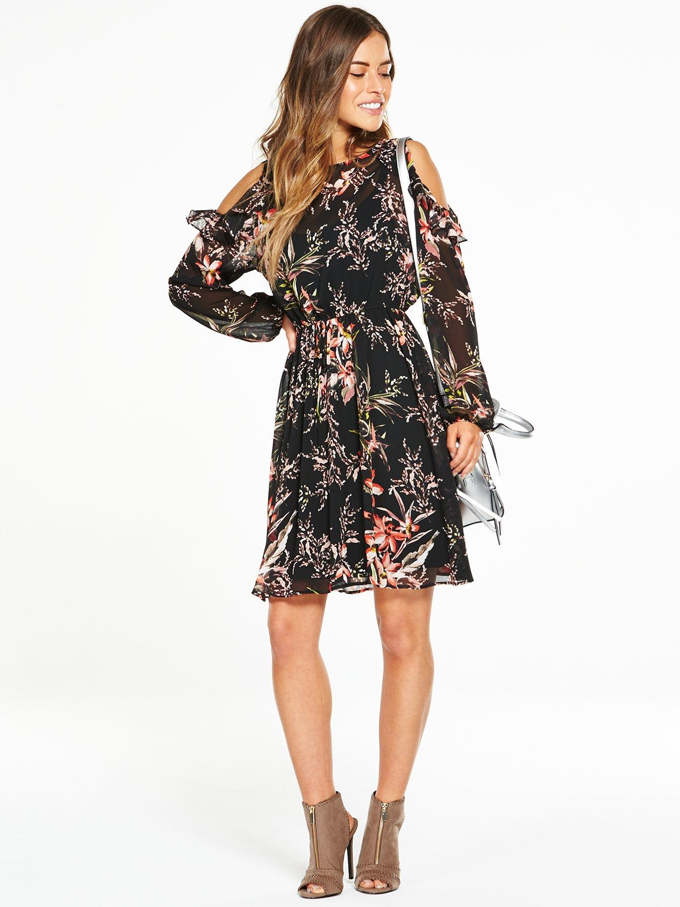 Floral Dress V By Very