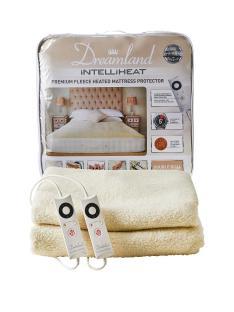 Dreamland Intelliheat Premium Fleece Mattress Protector