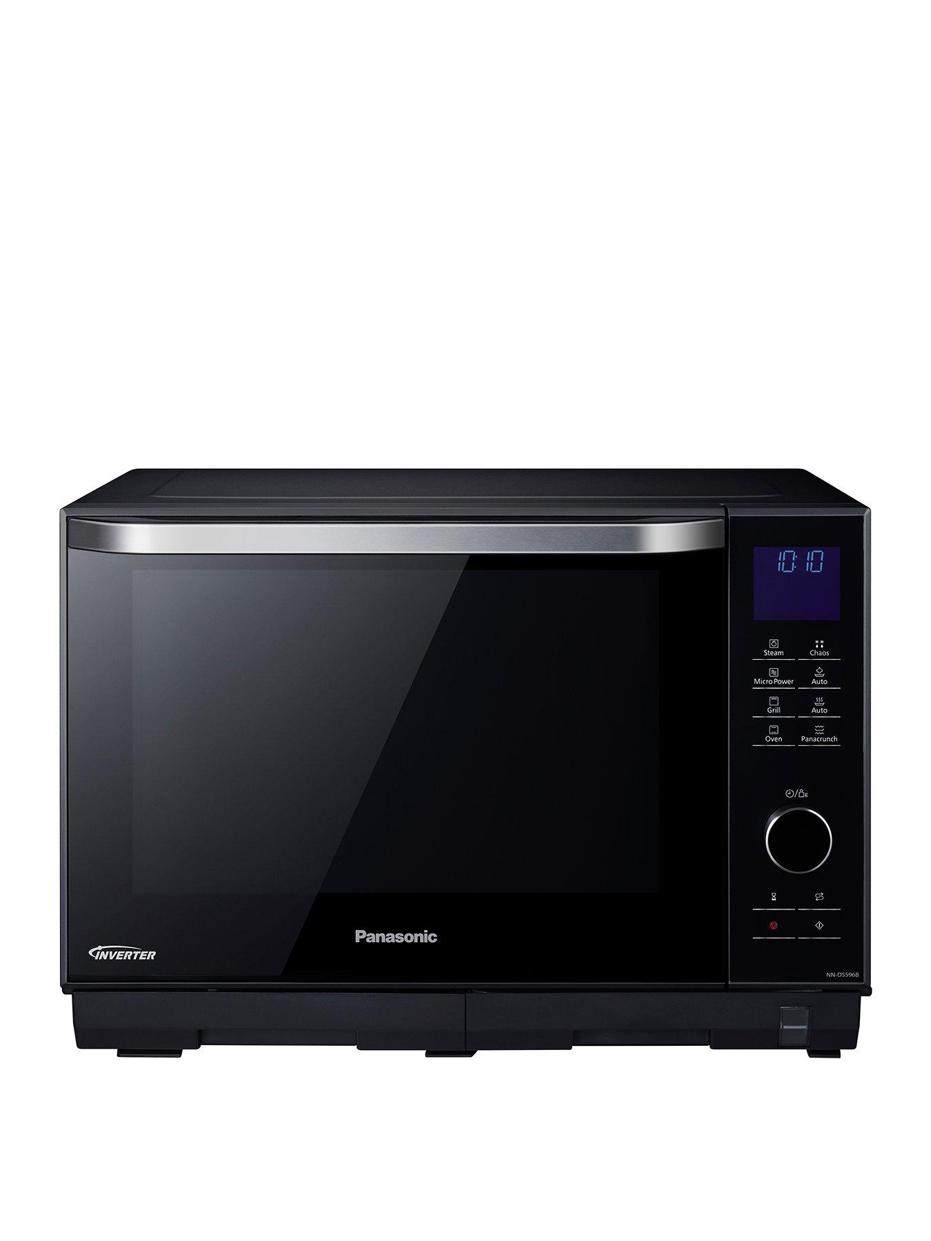 27 litre freestanding 4 in 1 steam combination microwave oven grill nn ds596bbp