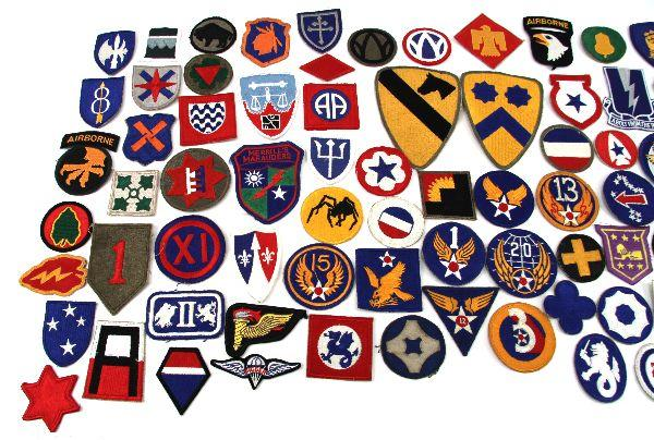 Us Army Wwii Patches Identification