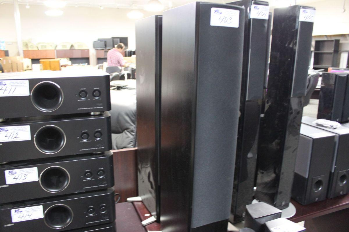 PAIR OF YAMAHA NS 325F STEREO SPEAKERS