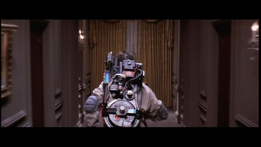 HERO SCREEN USED PROTON PACK FROM GHOSTBUSTERS