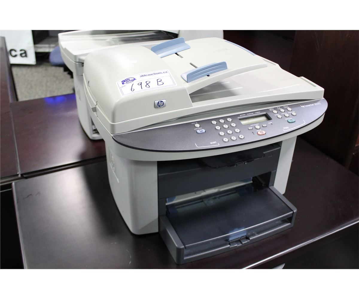 HP LASERJET 3020 MULTI FUNCTION PRINTER Able Auctions