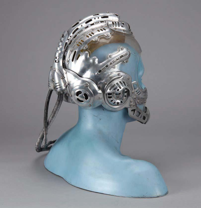 Arnold Schwarzenegger Mr Freeze Hero Metal Helmet