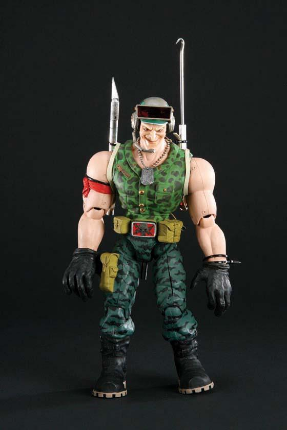 Brick Bazooka Link Static And Nick Nitro Commando Elite Animatronic Puppets From Small Soldiers