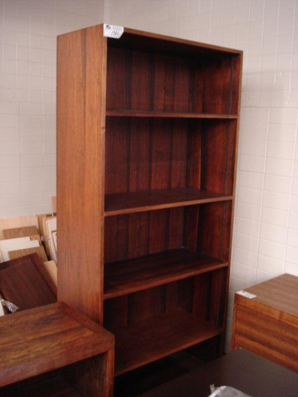 6 Ft Tigerwood Bookcase