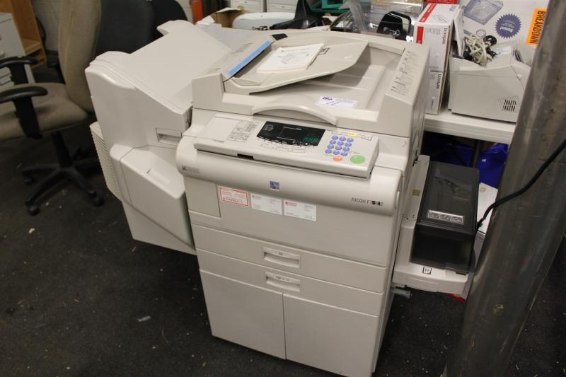 Ricoh Ft4522 Digital Photocopier With Finisher
