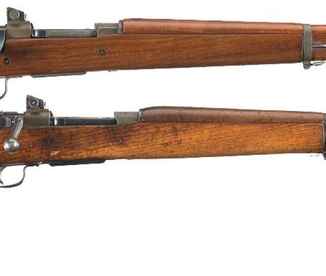 Image 1 Two U S Remington Model 1903 A3 Bolt Action Rifles A Remington