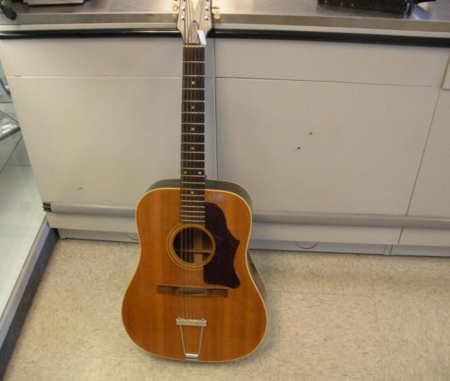 Vintage 1968 Gibson B 25  String Acoustic Guitar Loading Zoom